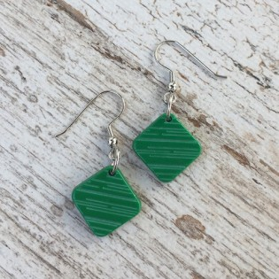 EARRINGS PINA GREEN
