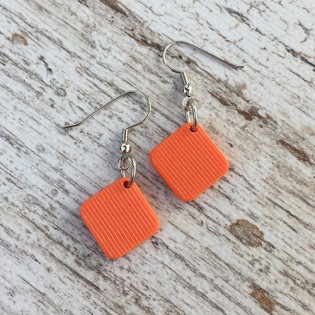 EARRINGS PINA ORANGE
