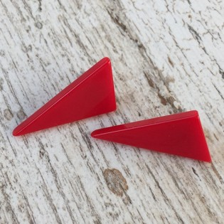 EARRINGS LOLA RED