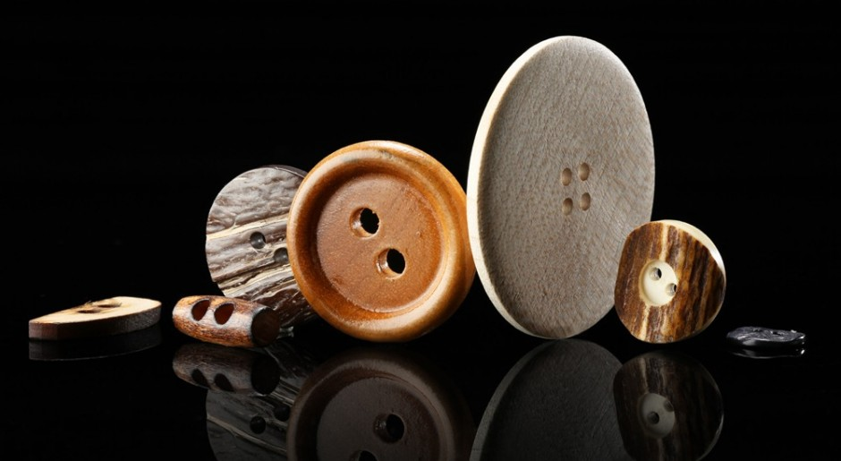 Buttons made of natural materials