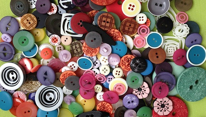 Our buttons are used on boutique clothing as well as clothing manufactured by large textile companies in Slovenia and abroad.